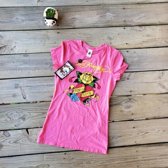 Ed Hardy Tops - 💜Ed Hardy T shirt